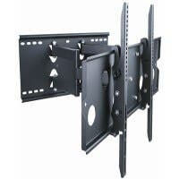 Monoprice Titan Series Full Motion Wall Mount for Large 32 - 60 inch TVs 175lbs Black (Open Box)