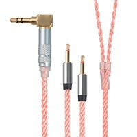 Monolith by Monoprice Oxygen Free Copper Braided Headphone Cable 3.5mm and Dual 2.5mm TRS - 5 feet