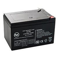 Minuteman B00009 12V 12Ah UPS Battery - This is an AJC Brand Replacement