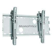 Monoprice Titan Series Tilt TV Wall Mount Bracket, For TVs 32in to 55in, Max Weight 165 lbs, VESA Patterns Up to 450x250, Works with Concrete & Brick, UL Certified
