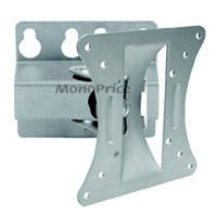 Monoprice Tilt TV Wall Mount Bracket, For TVs 13in to 27in, Max Weight 66lbs, VESA Patterns Up to 100x100, Works with Concrete & Brick