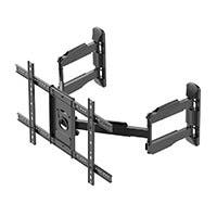 Monoprice Cornerstone Series Full-Motion Articulating TV Wall Mount Bracket For TVs 37in to 70in, Max Weight 99lbs, VESA Patterns Up to 600x400, Rotating