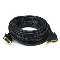 50ft 28AWG VGA & USB (A Type) to M1-D (P&D) Cable - Black