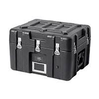 Pure Outdoor by Monoprice Stackable Rotomolded Weatherproof Case with Customizable Foam, 21 x 17 x 15 inches, Black