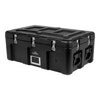 Pure Outdoor by Monoprice Stackable Rotomolded Weatherproof Case, 32 x 18 x 13 inches, Black