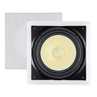 Monoprice Caliber In-Wall Speaker 10in Fiber 300W Subwoofer (each)