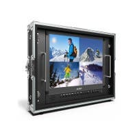 Lilliput 15.6in Carry-On and Rackable 4K Broadcast Director Monitor with SDI, HDMI, VGA & DVI Inputs