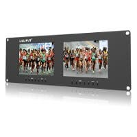 Lilliput 3RU Rack Monitors With Dual VGA, Video, and DVI