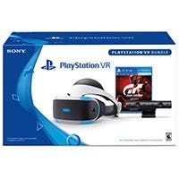 Sony PlayStation VR (PSVR) Gran Turismo Sport Bundle for the PS4 (VR Headset, Camera, GT Sport)