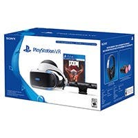 Sony PlayStation VR (PSVR) Doom VR Bundle for the PS4 (VR Headset, Camera, Doom VFR)