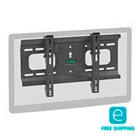 Monoprice Essentials Ultra-Slim Full-Motion Articulating TV Wall Mount Bracket - For TVs 32in to 55in, Max Weight 165lbs, VESA Patterns Up to 400x200, Works with Concrete & Brick, UL Certified