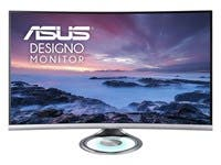 "ASUS Designo 31.5"" 16:9 Curved LCD Monitor - 75HZ DP HDMI EYE CARE - MX32VQ"