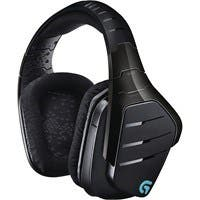 Logitech Artemis Spectrum Wireless 7.1 Surround Sound Gaming Headset - Stereo - Mini-phone, RCA - Wired/Wireless - 65.6 ft - 39 Ohm20 kHz - Over-the-head - Binaural - Circumaural