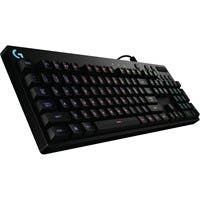 Logitech G810 Orion Spectrum RGB Mechanical Gaming Keyboard - Cable Connectivity - USB 2.0 Interface - 104 Key - Compatible with Computer - Play/Pause, Mute, Volume Control, Skip, Backlight On/Off Hot
