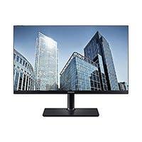 "Samsung SH850 Series Black 26.9"" 2K QHD 1440p 4ms 60Hz AMD FreeSync Monitor, 350cd/m2, HDMI, USB-C, Display Port, Tilt, Swivel, Pivot, Height Adjustable - S27H850QFN"