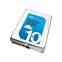 "Seagate 10TB Enterprise Capacity 3.5"" Hard Disk Drive SAS 7200 RPM 256MB Cache - ST10000NM0206"