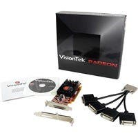 Visiontek 900345 Radeon HD 5570 Graphic Card - 650 MHz Core - 1 GB DDR3 SDRAM - PCI Express 2.0 x16 - Low-profile - Single Slot Space Required - Fan Cooler - DirectX 11.0, OpenGL 3.2 - 4 x Total Numbe
