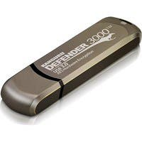 Kanguru Defender3000 FIPS 140-2 Level 3, SuperSpeed USB 3.0 Secure Flash Drive, 64G - FIPS 140-2 Level 3 Certified, Secure, SuperSpeed USB 3.0, Remotely Manageable
