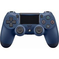 Sony DualShock 4 Wireless Controller for PlayStation 4 (PS4) - Midnight Blue
