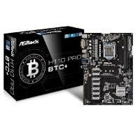 ASRock H110 Pro BTC+ 13GPU Mining Motherboard CryptoCurrency (Open Box)