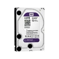 "WD Purple WD40PURX 4TB Surveillance 3.5"" Internal HDD SATA 64 MB Buffer 1Pack (Open Box)"