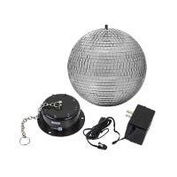Stage Right 10-inch Mirror Ball & Motor with LED Lights (Open Box)