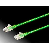 SlimRun Cat6 Glow in the Dark Ethernet Patch Cable, Snagless RJ45, Stranded, 550MHz, UTP, Pure Bare Copper Wire, 28AWG, 7ft, Glow