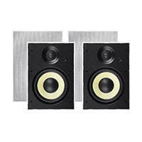 Monoprice Caliber Slim In-Wall Speakers, 8in Fiber 2-Way (pair)