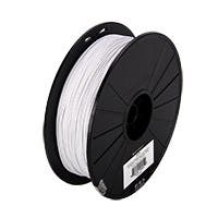 Monoprice MP Select PLA Plus+ Premium 3D Filament 1.75mm 700g/spool, White