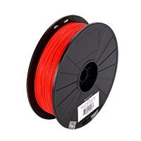 Monoprice MP Select PLA Plus+ Premium 3D Filament 1.75mm 700g/spool, Red