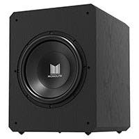 "Monolith by Monoprice M12-S 12"" THX Certified Sealed 500 Watt Powered Subwoofer"