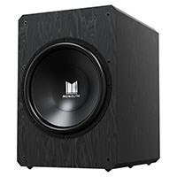 "Monolith by Monoprice M10-S 10"" THX Certified Sealed 500 Watt Powered Subwoofer"