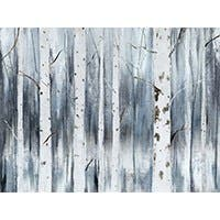 "WINTER BIRCH ARTIST ENHANCED WALL ART 24""X32"""