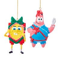 SpongeBob Squarepants™ Christmas Ornaments Set of 2