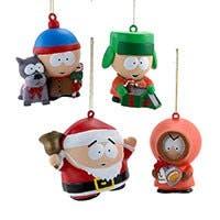 South Park™ Ornaments, 4-Piece Box Set