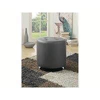 Carbon Collection by Monoprice Divi Ottoman Gray