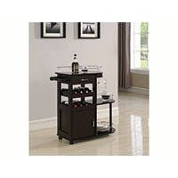 Carbon Collection by Monoprice Catrall Bar Cart