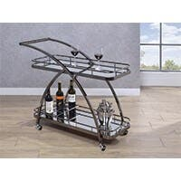 Carbon Collection by Monoprice Edami Bar Cart