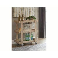 Carbon Collection by Monoprice Palacci Bar Cart
