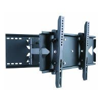 Monoprice Titan Series Full-Motion Articulating TV Wall Mount Bracket - For TVs 23in to 37in, Max 130lbs, Ext Range of 5.0in to 19.5in, VESA Up to 496x330, Works with Concrete & Brick (Open Box)