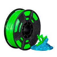 Monoprice Hi-Gloss 3D Printer Filament PLA 1.75mm 1kg/spool, Green