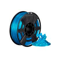 Monoprice Hi-Gloss 3D Printer Filament PLA 1.75mm 1kg/spool, Blue Green
