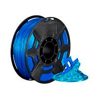 Monoprice Hi-Gloss 3D Printer Filament PLA 1.75mm 1kg/spool, Blue