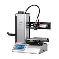 Monoprice MP Select Mini Pro 3D Printer, Aluminum with Auto Leveling, Heated Removable Bed, Touch Screen, and Wi-Fi (Open Box)