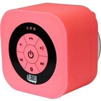 Adesso Xtream Xtream S1P Speaker System - Battery Rechargeable - Wireless Speaker(s) - Pink - 150 Hz - 20 kHz - 30 ft - Bluetooth - USB