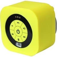 Adesso Xtream Xtream S1Y Speaker System - Battery Rechargeable - Wireless Speaker(s) - Yellow - 150 Hz - 20 kHz - 30 ft - Bluetooth - USB