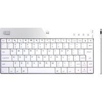 Adesso Bluetooth Mini Keyboard 1000 for iPad - Wireless Connectivity - Bluetooth - 84 Key - English (US) - Compatible with Cellular Phone, Computer, Tablet - Screenshot, Mute, Volume Up, Volume Down,