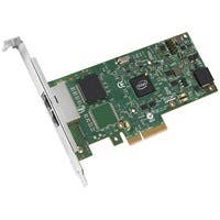 Intel Ethernet Server Adapter I350-T2 - PCI Express x4 - 2 Port(s) - 2 x Network (RJ-45) - Twisted Pair - Low-profile, Full-height - Bulk