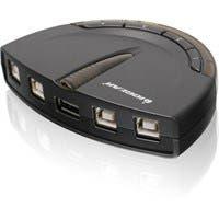 IOGEAR GUB431 4-Port USB 2.0 Automatic Printer Switch - 4 x USB