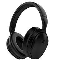 Monoprice BT-300ANC Bluetooth Wireless Over Ear Headphones with Active Noise Cancelling (ANC) (Open Box)